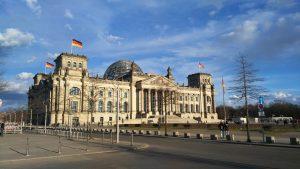 Bondsdag gebouw Berlijn