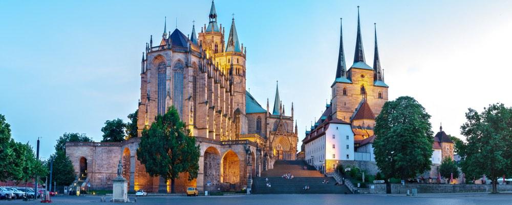 de dom in Erfurt