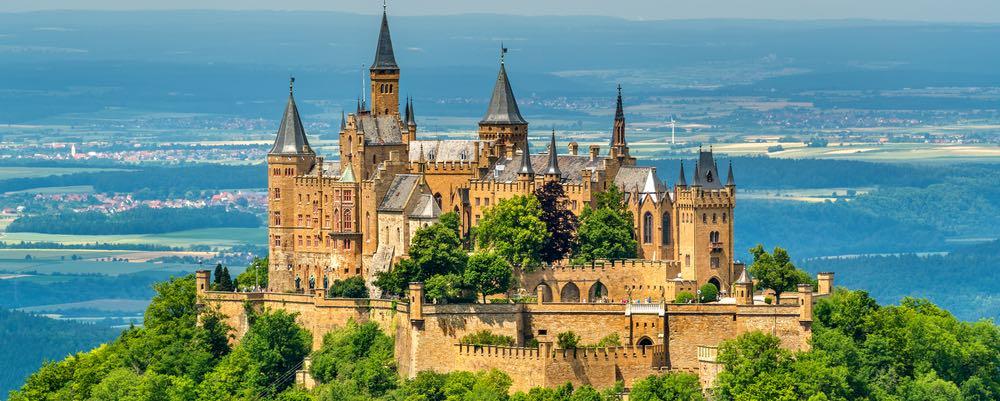 Burg Hohenzollern in Balingen
