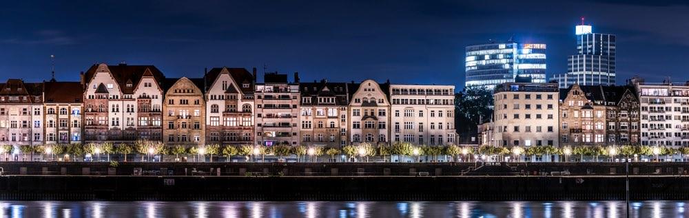 panorama Altstadt Dusseldorf
