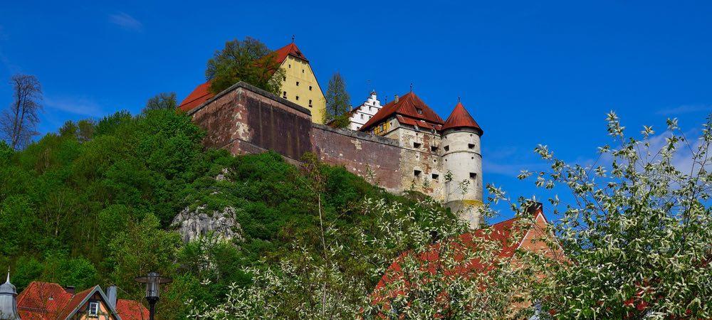hellenstein kasteel van Heidenheim