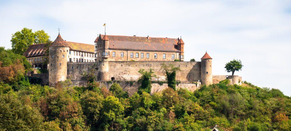Stettenfels kasteel in Heilbronn