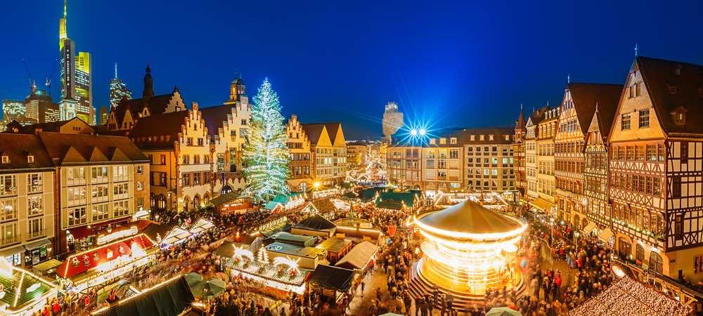 de kerstmarkt in frankfurt